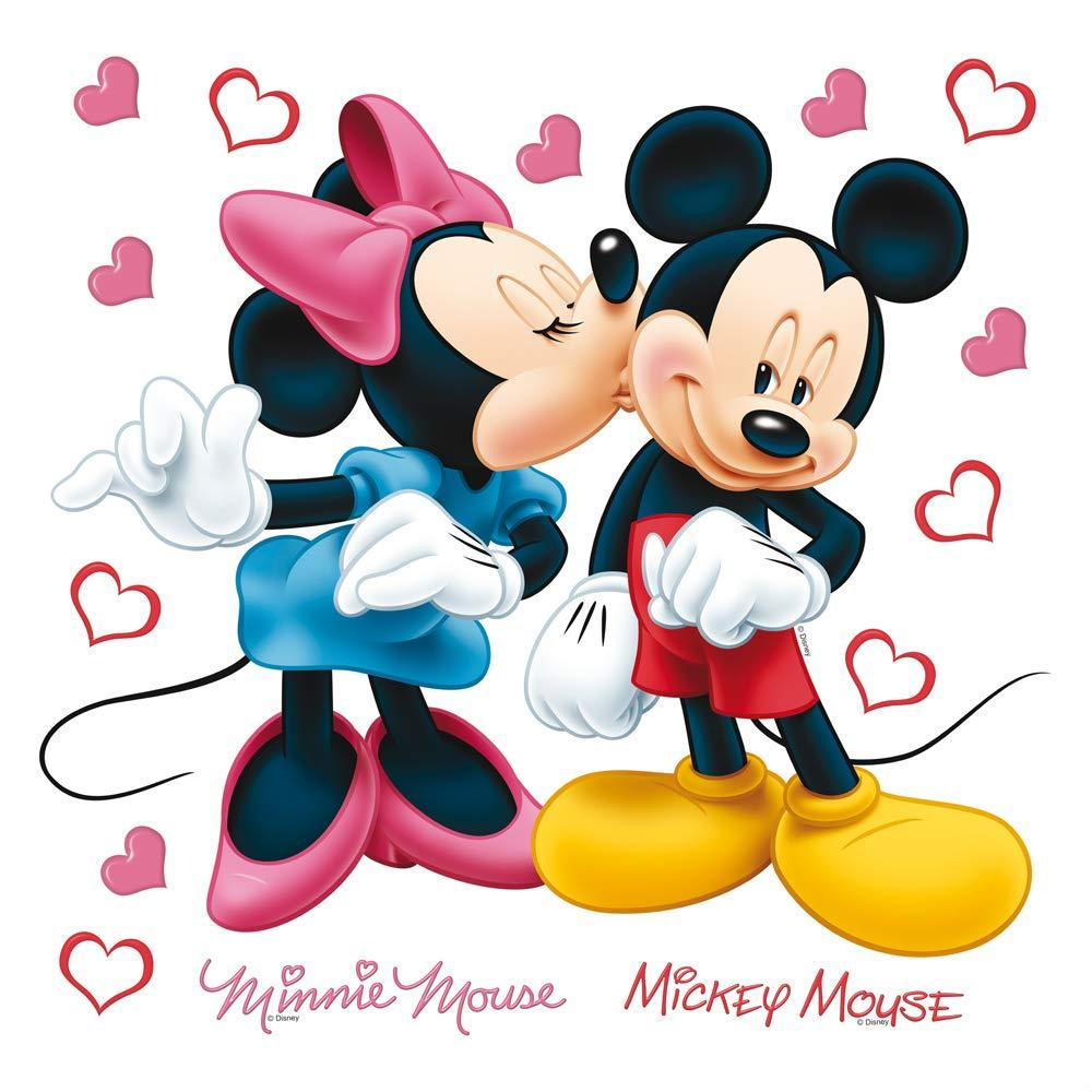 Ag Design Disney Minnie And Mickey Mouse Wall Sticker Dks1085