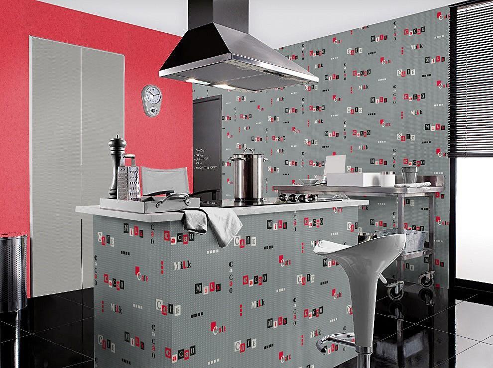 Wallpaper schwarz und rot