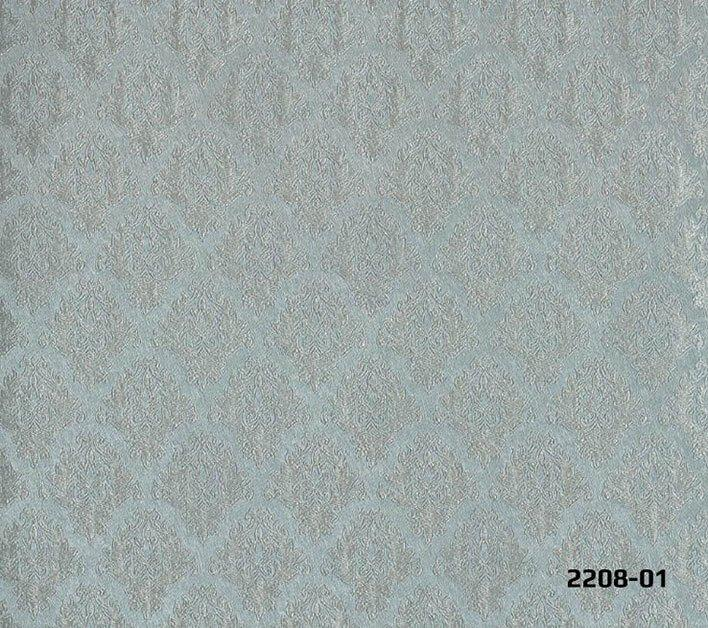 Decowall Bossini Damask Soft Mint Green Wallpaper 2208 01